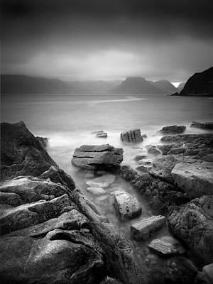 Waterscape Photograph - Scotland Elgol by Nina Papiorek