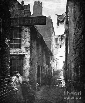Photograph - Scotland: Glasgow, 1868 by Granger