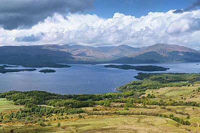 Photograph - Scotland Landscape by Matthias Hauser