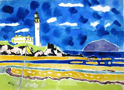 Scotland Turnberry 10 Art Print by Lesley Giles