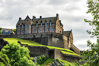 Photograph - Scotland's Edinburgh Castle by MaryJane Armstrong