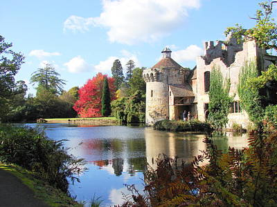 Scotney Castle Print by Nicola Butt
