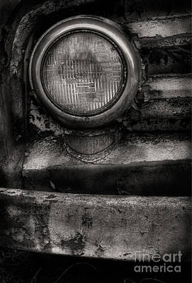 Scotopic Vision 7 - Headlight Art Print