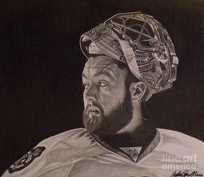 Drawing - Scott Darling Portrait by Melissa Goodrich