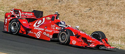 Indycar Photograph - Scott Dixon by Webb Canepa