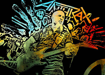 Scott Ian Digital Art - Scott Ian 2 by Michael Bergman