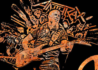 Scott Ian Digital Art - Scott Ian 3 by Michael Bergman