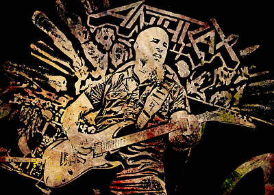 Scott Ian Digital Art - Scott Ian 4 by Michael Bergman