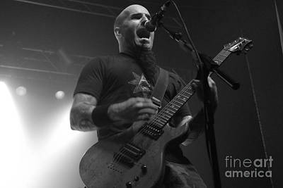 Photograph - Scott Ian- Anthrax by Jenny Potter