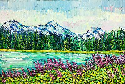 Painting - Scott Lake by Eryn Tehan