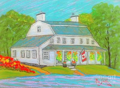 Scott Manor House  Art Print by Rae  Smith