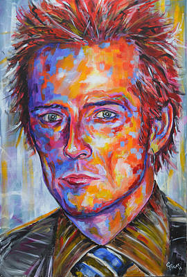 Stone Temple Pilots Wall Art - Painting - Scott Weiland by Chris Figat