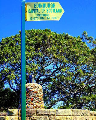 Photograph - Scottish Cairn In Mosman Nsw by VIVA Anderson