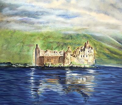 Painting - Scottish Castle by Elizabeth Lock