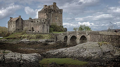 Photograph - Scottish Castles Eilean Donan -1 by Alex Saunders