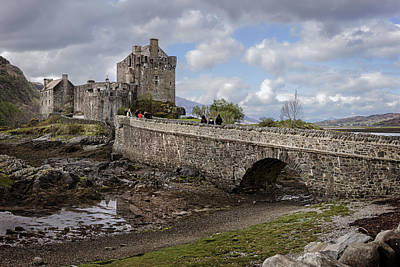 Photograph - Scottish Castles Eilean Donan -2 by Alex Saunders