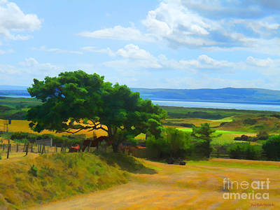 Photograph - Scottish Country Side  by Roberta Byram