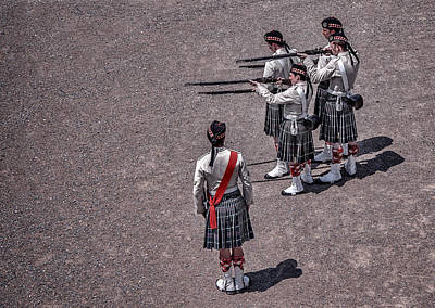Photograph - Scottish Death Squad by Patrick Boening