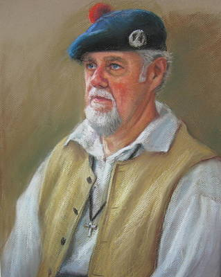 Painting - Scottish Descent by Sharon Weaver