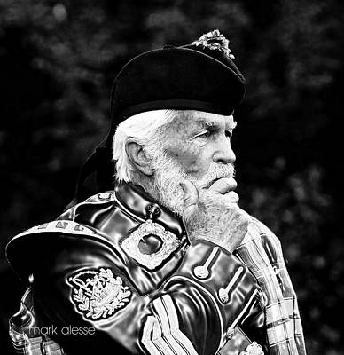 Photograph - Scottish Guard by Mark Alesse