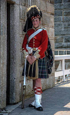 Photograph - Scottish Guard by Patrick Boening