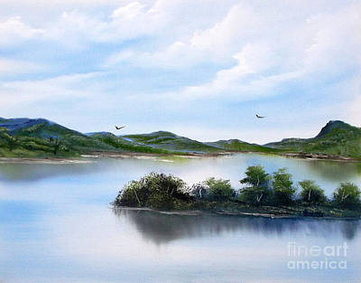 Painting - Scottish Highlands by Cynthia Adams