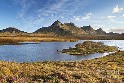 Scotland Photograph - Scottish Highlands And The Mountains Of Ben Loyal by Sara Winter