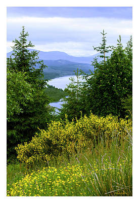 Scottish Highlands Art Print