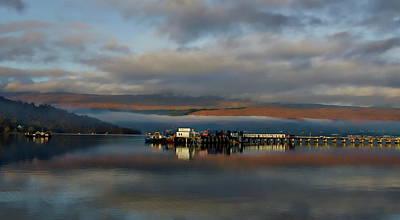 Photograph - Scottish Highlands Panorama by Anthony Dezenzio
