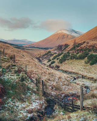Photograph - Scottish Highlands by Ray Devlin