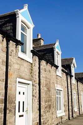Scottish Homes Print by Tom Gowanlock