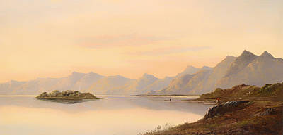 Scotland Painting - Scottish Landscape by Mountain Dreams
