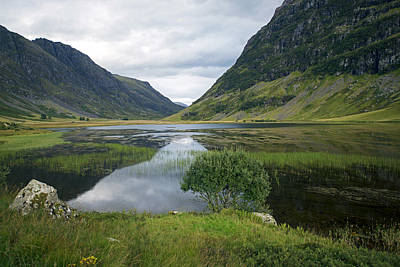 Photograph - Scottish Tranquility by Dubi Roman