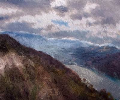 Painting - Scottish Landscape by Mark Taylor