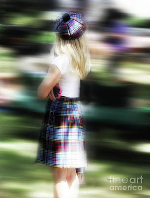 Babes Photograph - Scottish Maiden  by Steven Digman