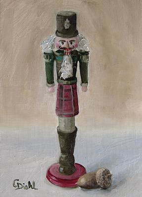 Painting - Scottish Nutcracker No.3 by Grace Diehl