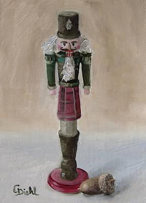 Painting - Scottish Nutcracker No.3 by Grace Diehl