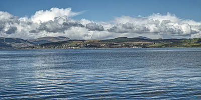 Photograph - Scottish Panorama Over The River Clyde by Jeremy Lavender Photography