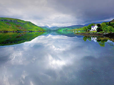 Digital Art - Scottish Reflection by Vicki Lea Eggen