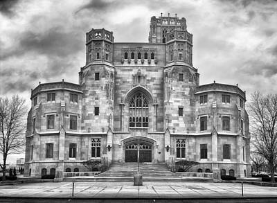 Art Print featuring the photograph Scottish Rite Cathedral by Howard Salmon