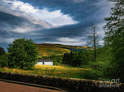 Photograph - Scottish Roadside by George Garbeck