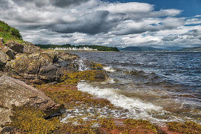 Photograph - Scottish Scenery In Inverclyde by Jeremy Lavender Photography