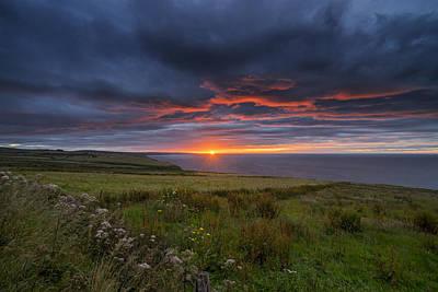 Photograph - Scottish Sunrise by Jeremy Lavender Photography