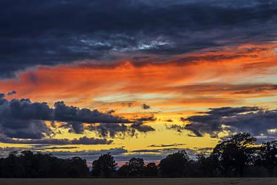 Photograph - Scottish Sunset by Jeremy Lavender Photography