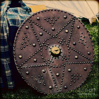 Photograph - Scottish Targe by Diane Macdonald