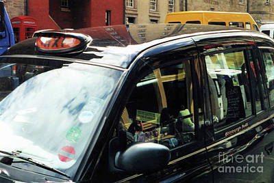 Photograph - Scottish Taxi by John S