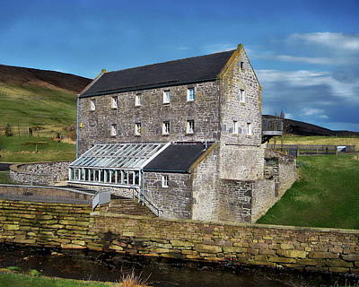 Photograph - Scottish Traditional Mill by Anthony Dezenzio