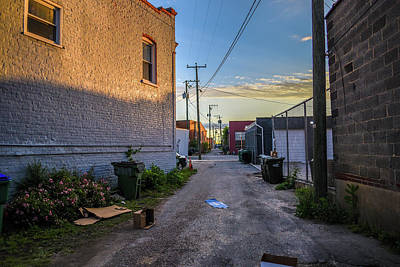 Photograph - Scott's Addition Alley Way by Doug Ash