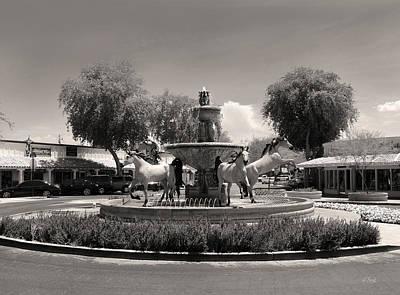 Bronze Horse Photograph - Scottsdale Spirit by Gordon Beck