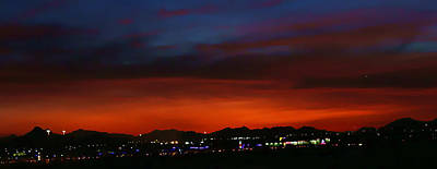 Digital Art - Scottsdale Sunset by Dan Stone
